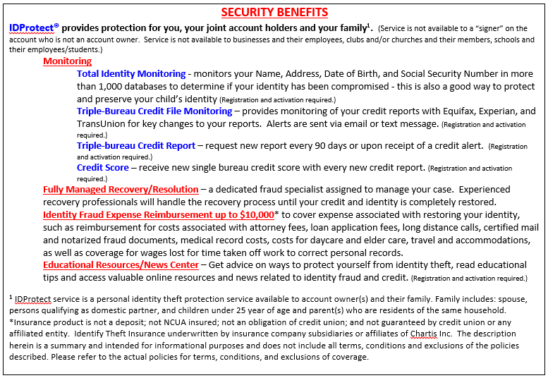 security benefits image